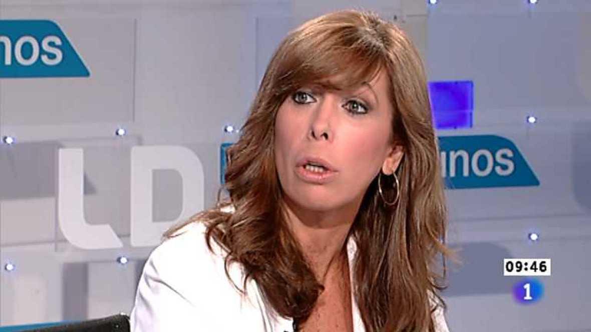 Los desayunos de TVE - Alicia Sánchez Camacho, presidenta del PP de Cataluña - Ver ahora
