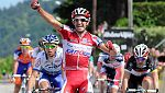 Dani Moreno sorprende y gana la etapa