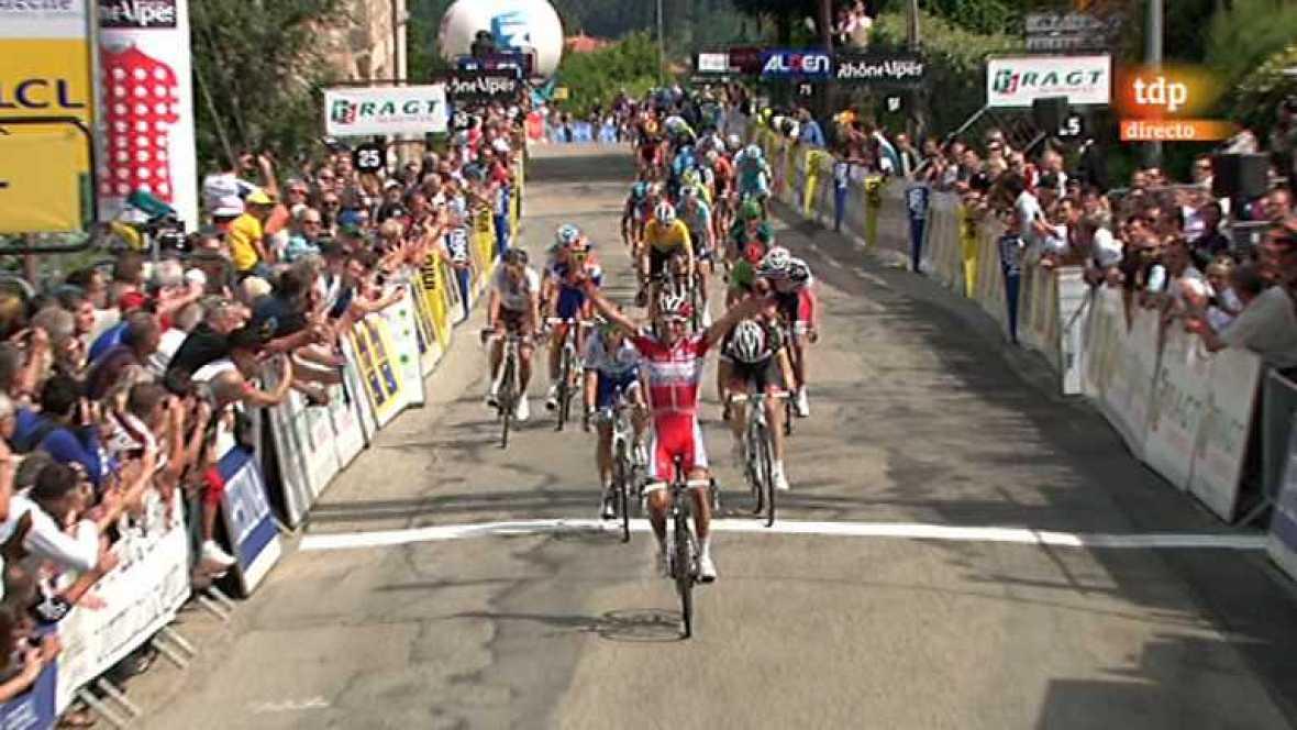 Ciclismo - Dauphiné Liberé. Segunda etapa - 05/06/12 - Ver ahora