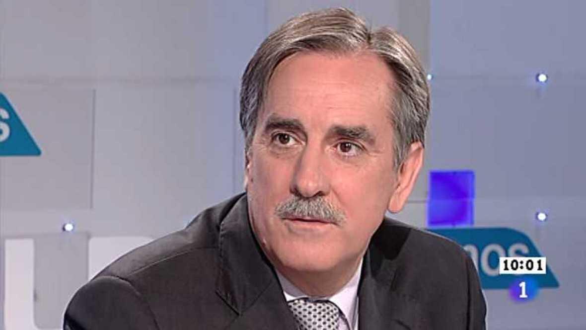 Los desayunos de TVE - Valeriano Gómez, portavoz de Economía del PSOE en el Congreso de los Diputados - Ver ahora