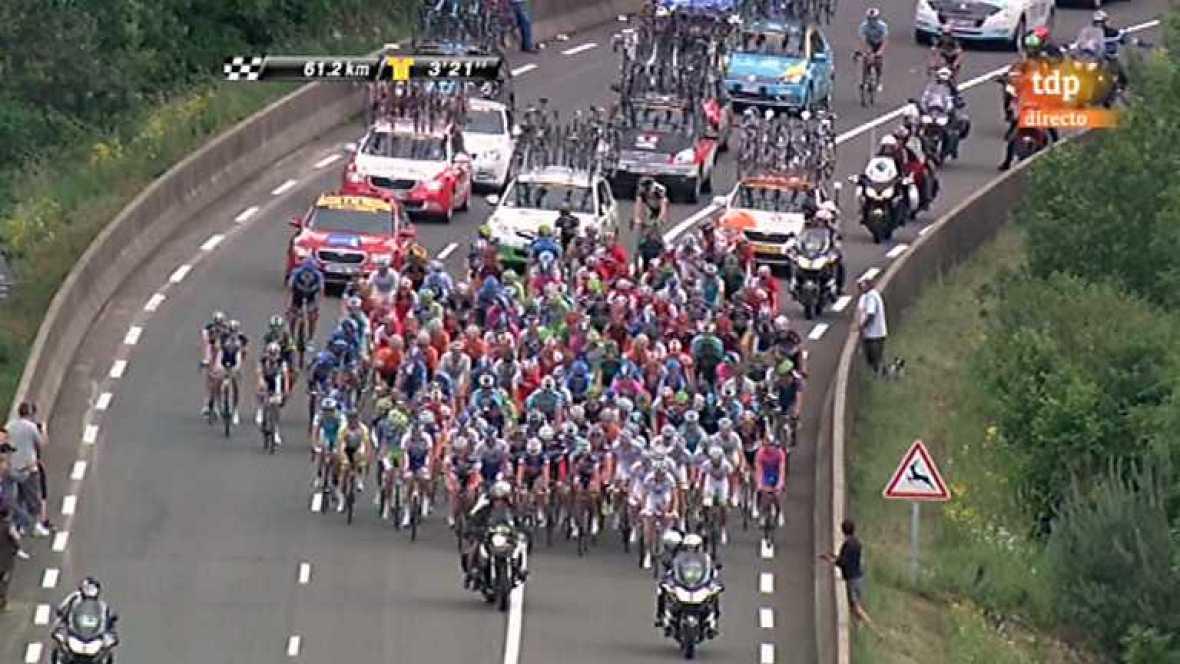 Ciclismo - Dauphiné Liberé. Tercera etapa - 06/06/12 - Ver ahora
