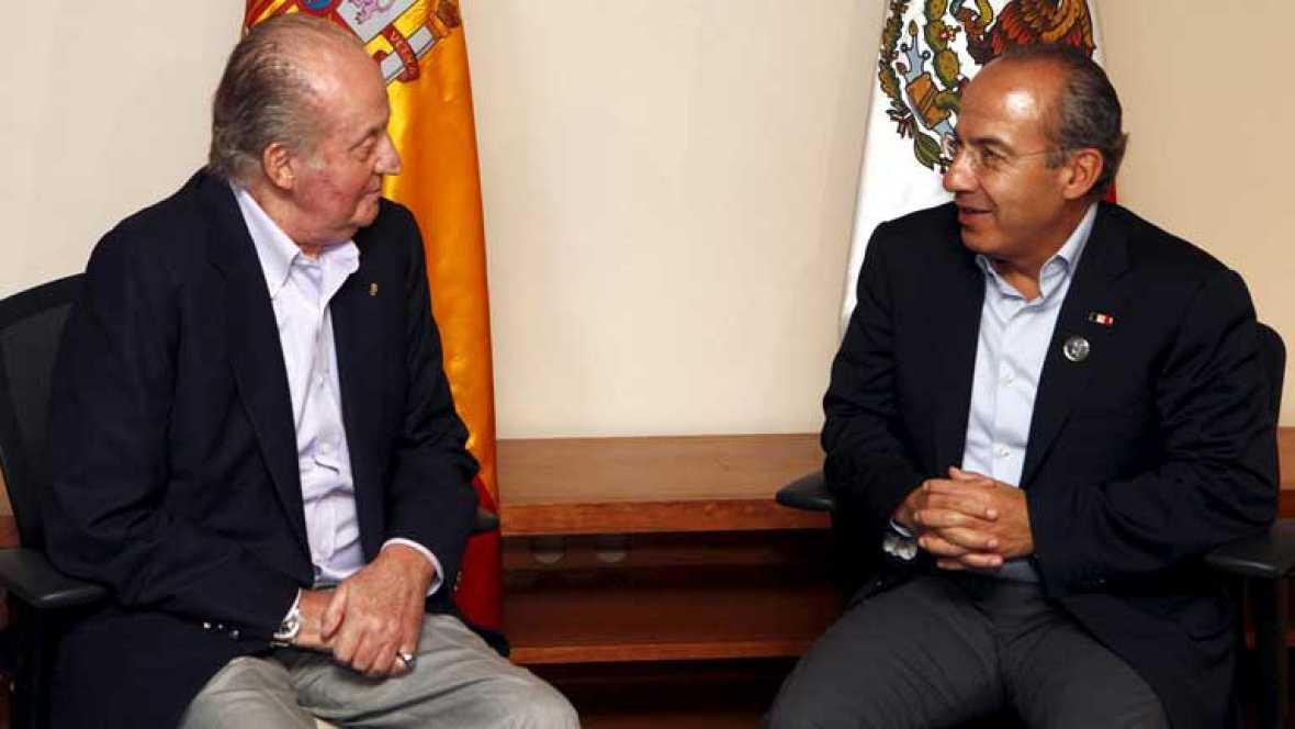 El Rey regresa a España después de su visita a Chile y Brasil
