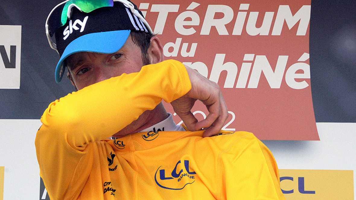 El corredor británico del equipo Sky es más líder de la Daphiné después de la contrarreloj individual en la que se ha impuesto con una autoridad indiscutible.
