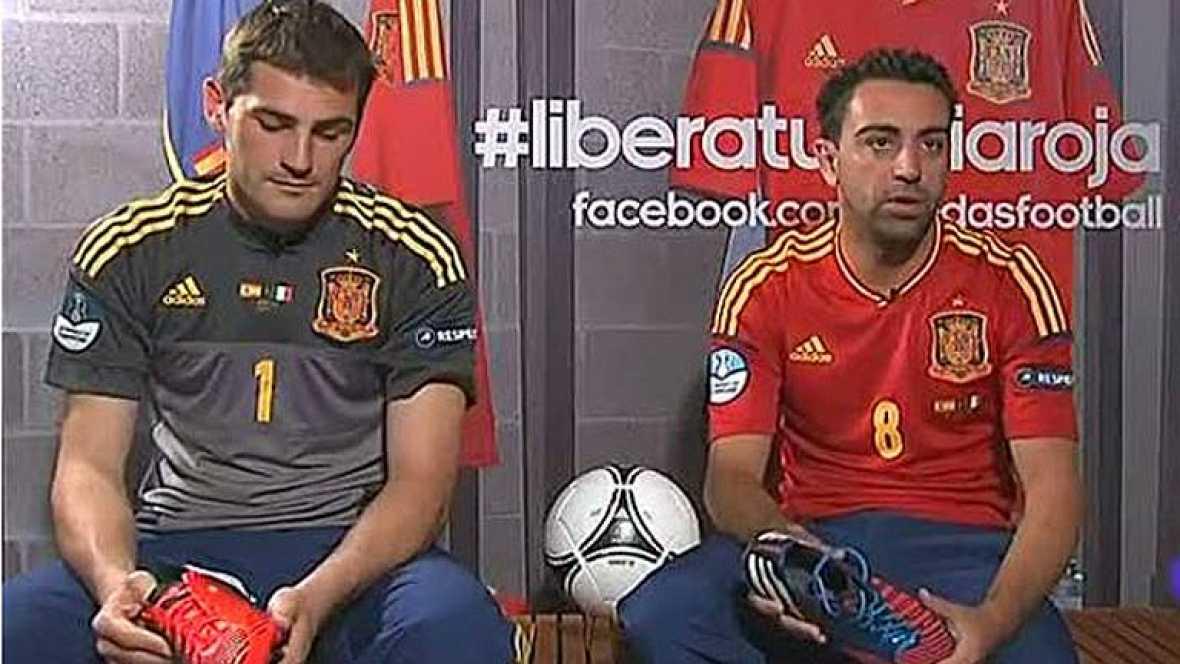 Xavi y Casillas, los capitanes de España