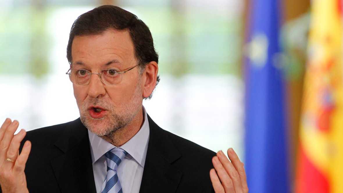 """Rajoy: """"Nadie me ha presionado, he presionado yo, que quería una línea de crédito"""""""