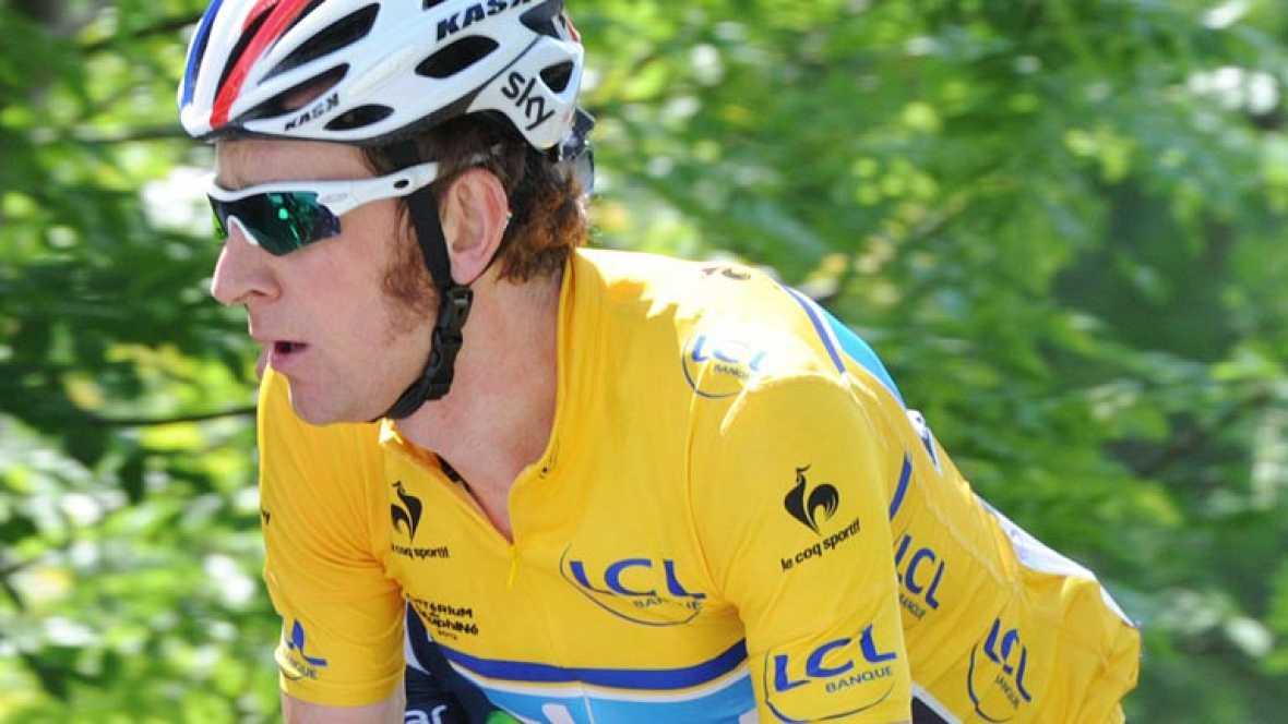 Moreno, en la última etapa del Dauphiné