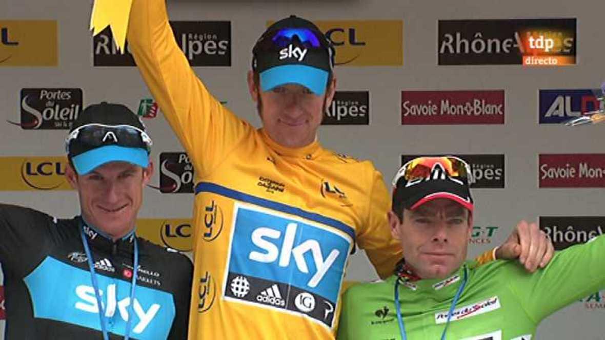 Ciclismo - Dauphiné Liberé. Séptima etapa - 10/06/12 - Ver ahora