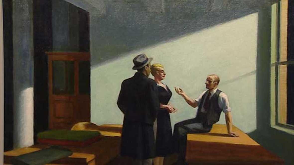 La obra de Hopper expuesta en el Museo Thyssen de Madrid