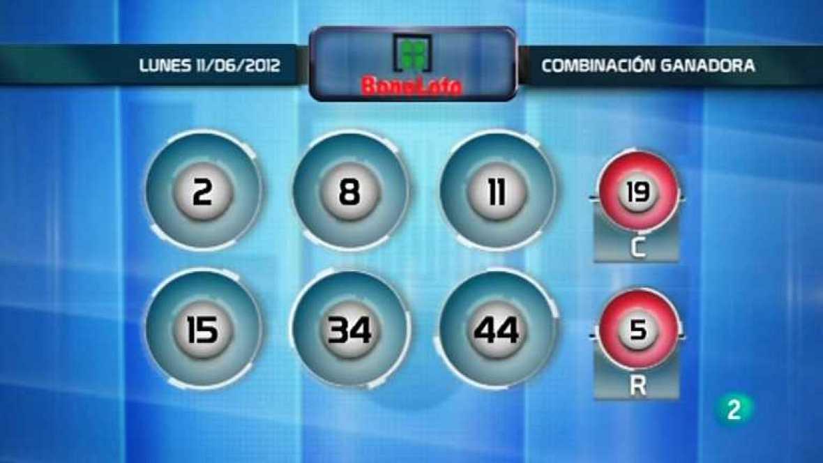 Lotería diaria - 11/06/12  - Ver ahora