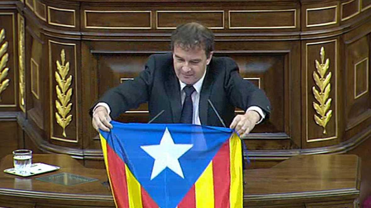 ERC bandera estelada Congreso