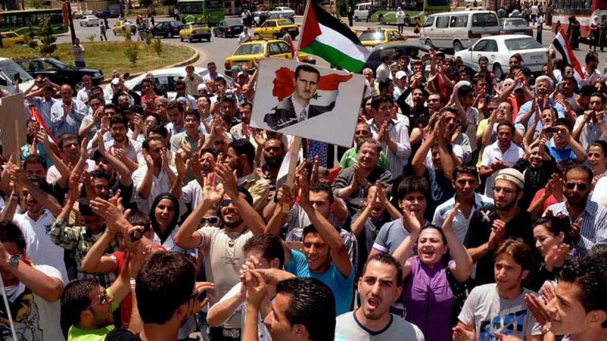 El Gobierno sirio dice que hay un conflicto con grupos armados y no guerra civil