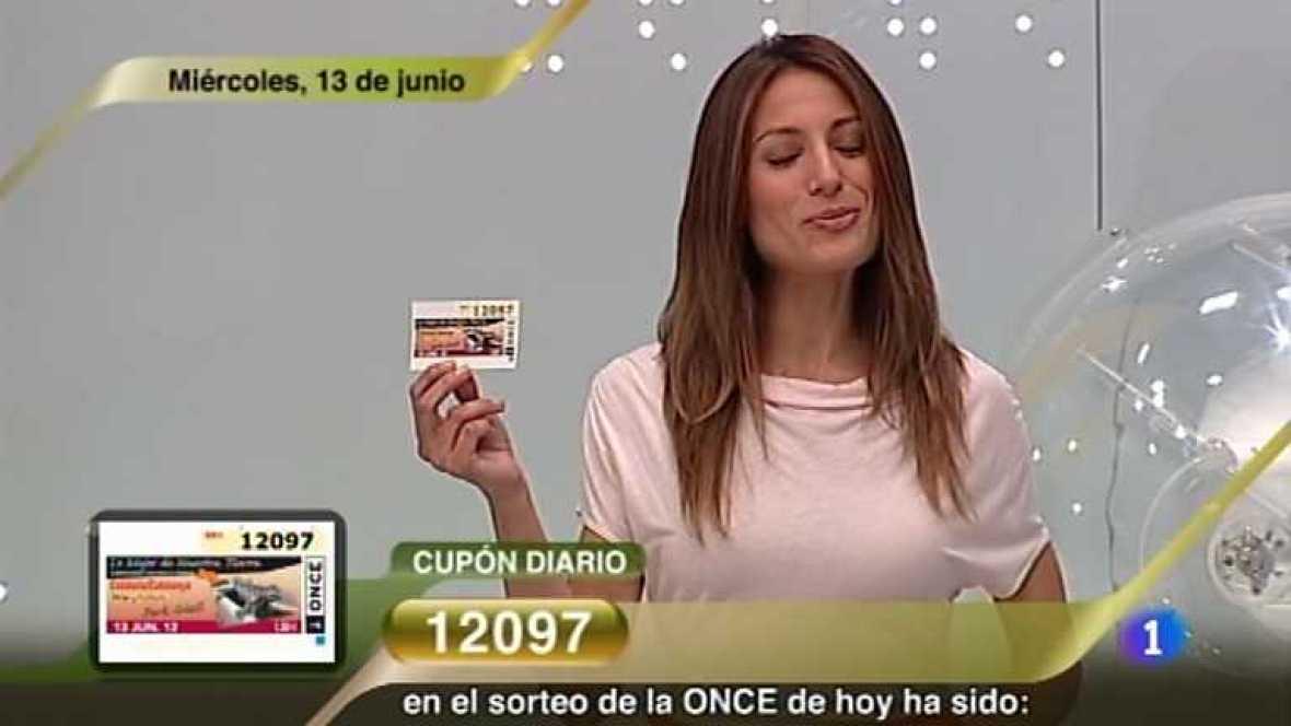 Sorteo ONCE - 13/06/12 - Ver ahora