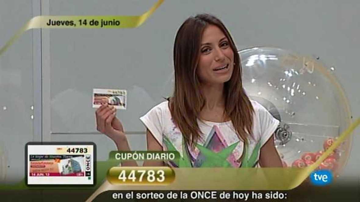 Sorteo ONCE - 14/06/12 - Ver ahora
