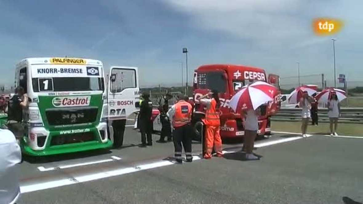 """Carreras de camiones - Campeontao de Europa """"GP Camión de las naciones"""" - ver ahora"""