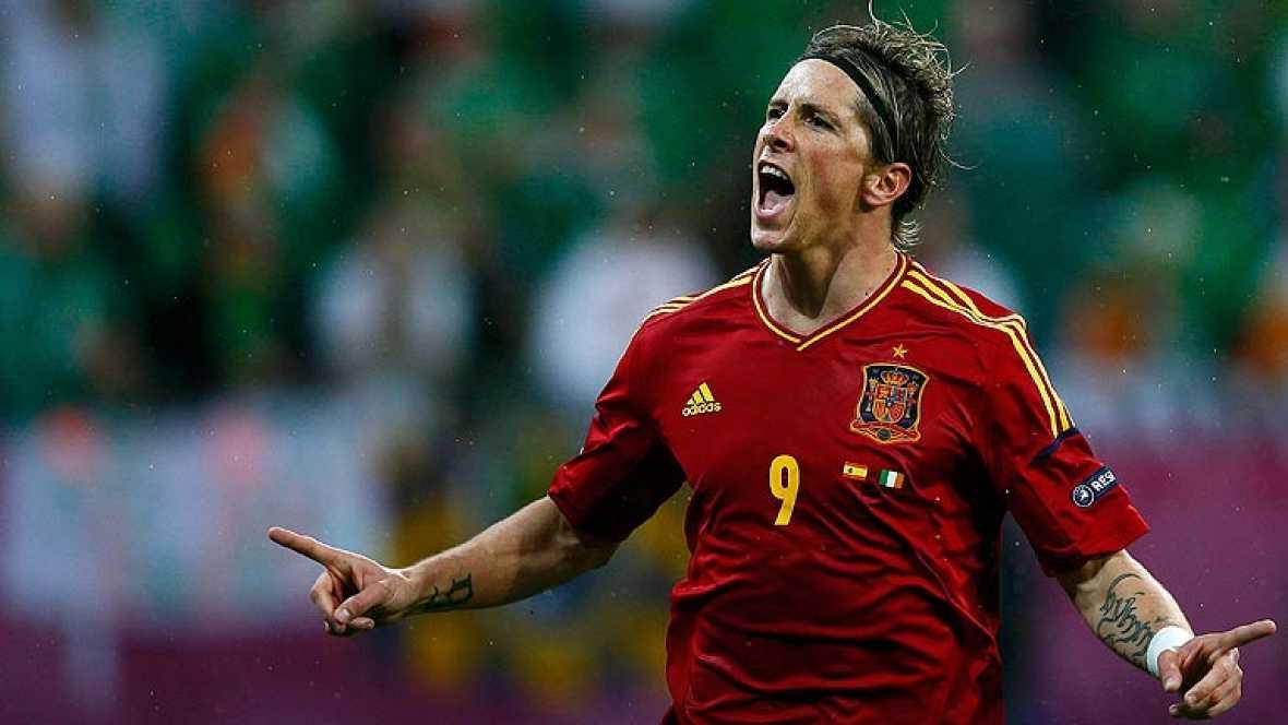 La selección española goleó a Irlanda por 4-0 en el segundo partido de la Eurocopa 2012. La afición de 'La Roja' lo celebró por todo lo alto