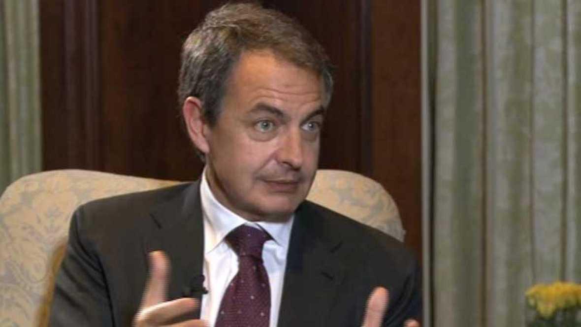 Zapatero asegura que Europa y el euro son más fuertes que la crisis