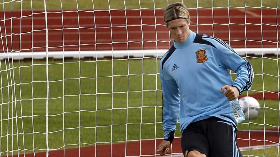 Fernando Torres ha acaparado gran parte del interés de los periodistas. El jugador del Chelsea antepone los éxitos del equipo a los suyos propios.