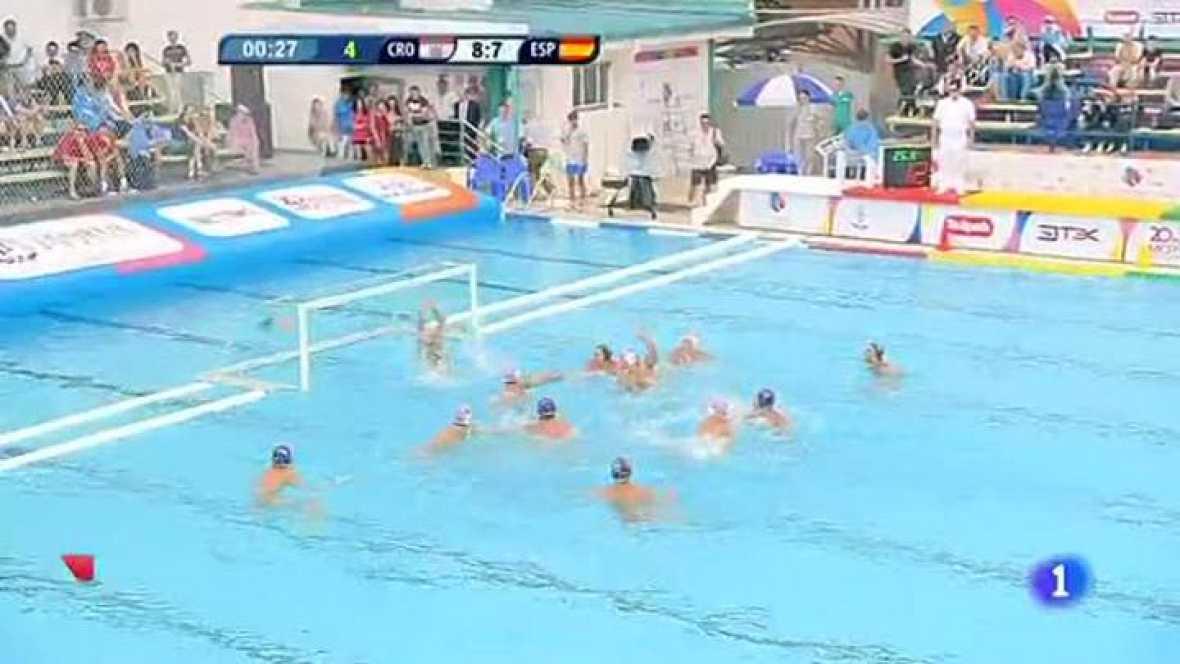 España se ha proclamado subcampeona de la Liga Mundial de waterpolo masculino. En la final Croacia se ha llevado el oro en los lanzamientos desde el punto de penalti. El partido acabó empate a 8.