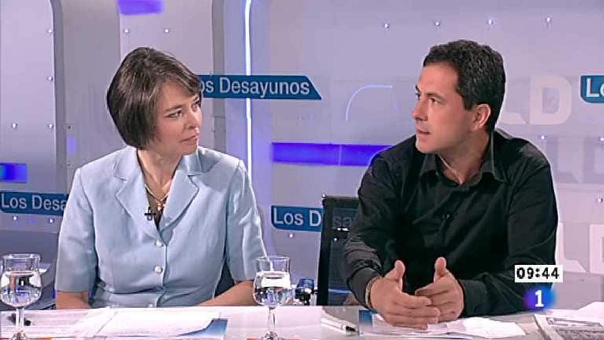 Los desayunos de TVE - Fiona Ortiz  y François Musseau, corresponsales de Reuter y de Libération - Ver ahora