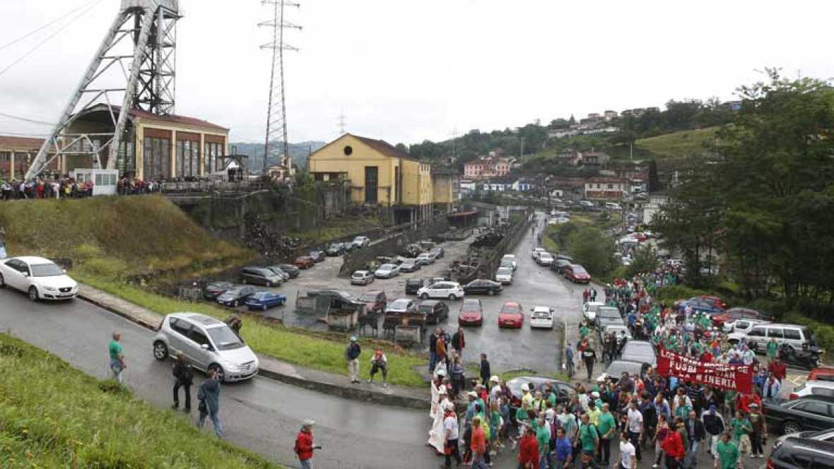 De nuevo barricadas y cortes de carreteras en los pueblos de las cuencas