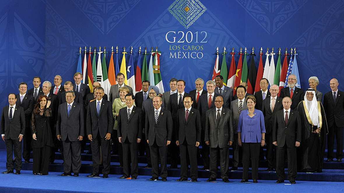 El G-20 respalda la recapitalización de la banca española tras una jornada negra