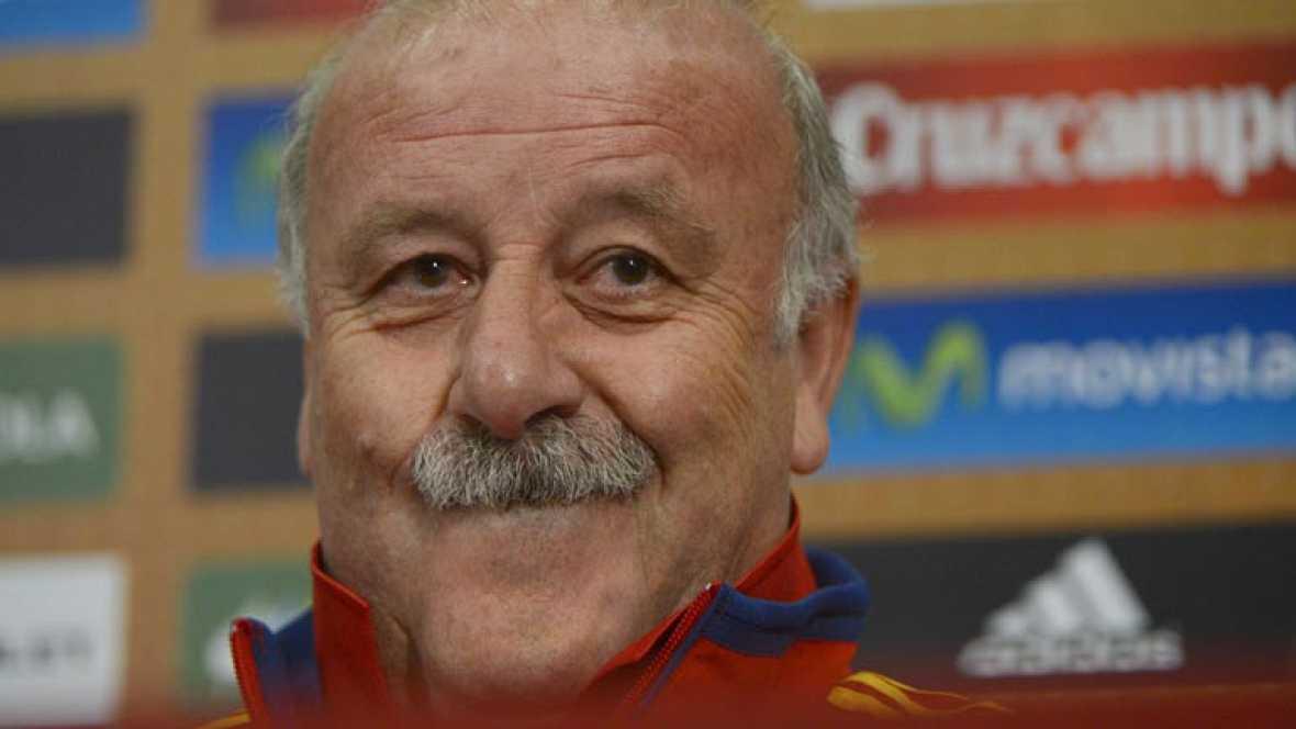 """El seleccionador español ha criticado el """"extremismo"""" de las críticas hacia el juego de la Roja en la Eurocopa. El salmantino ha defendido el trabajo del equipo frente a Croacia, en un partido que ha calificado de """"puñetero""""."""