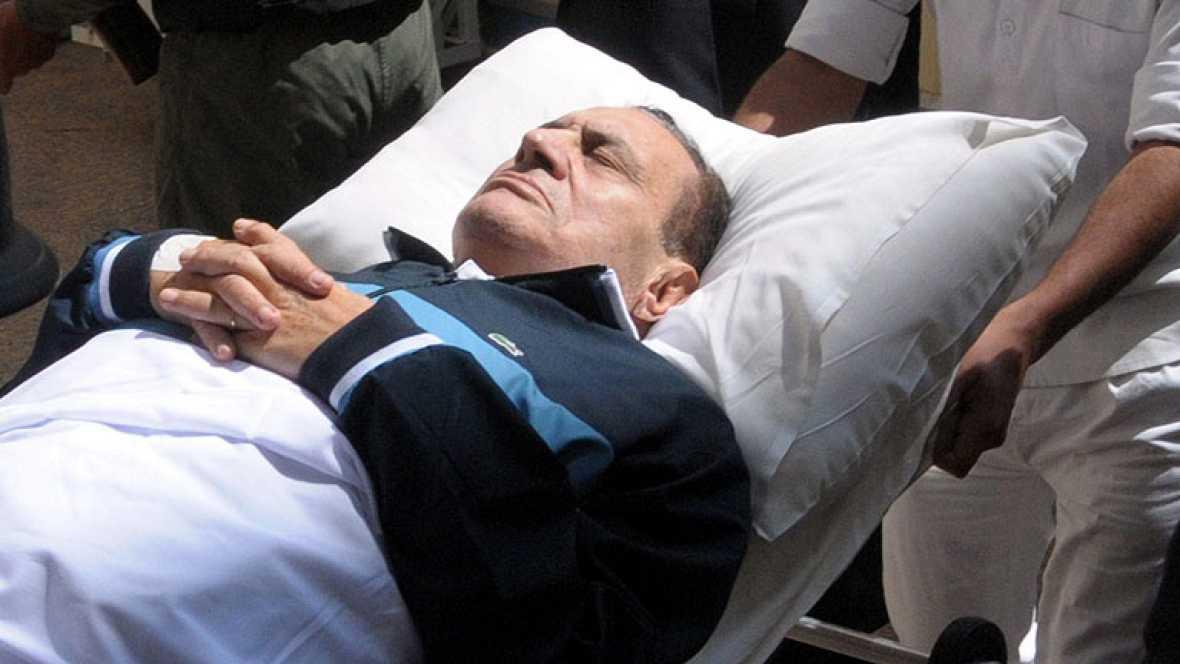 Hosni Mubarak, clínicamente muerto tras sufrir una parada cardiaca
