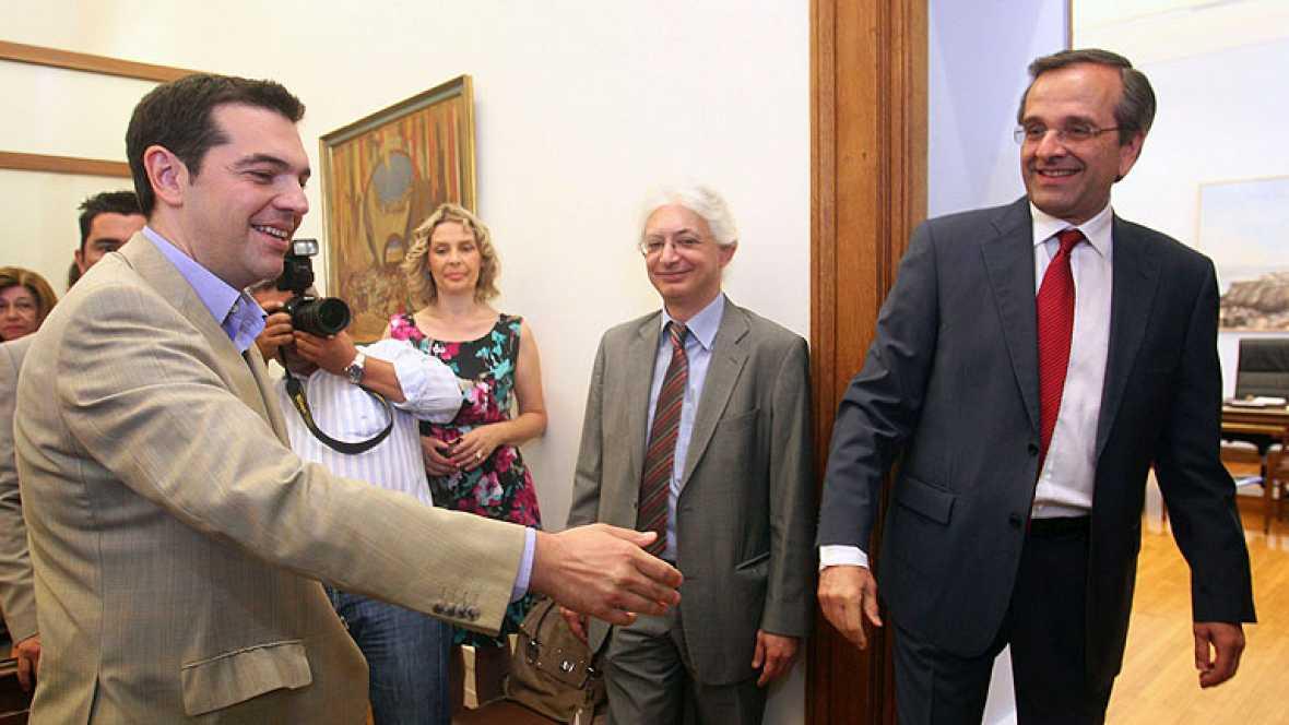 Nueva Democracia intenta formar gobierno en Grecia antes de agotar el plazo