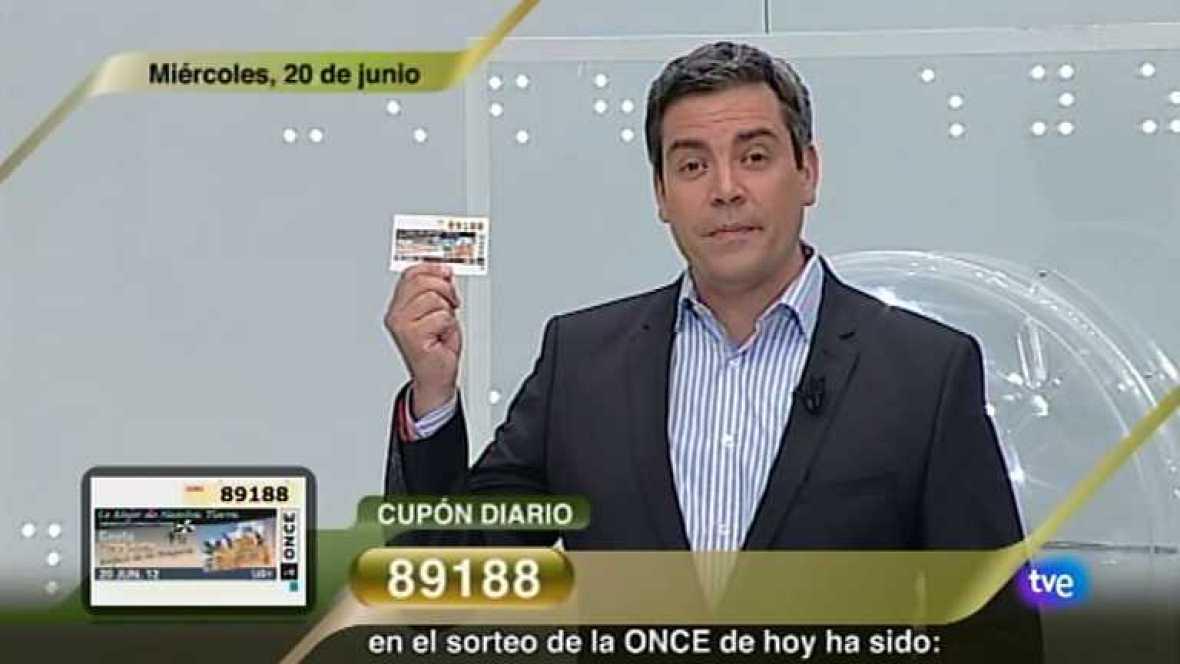Sorteo ONCE - 20/06/12 - Ver ahora