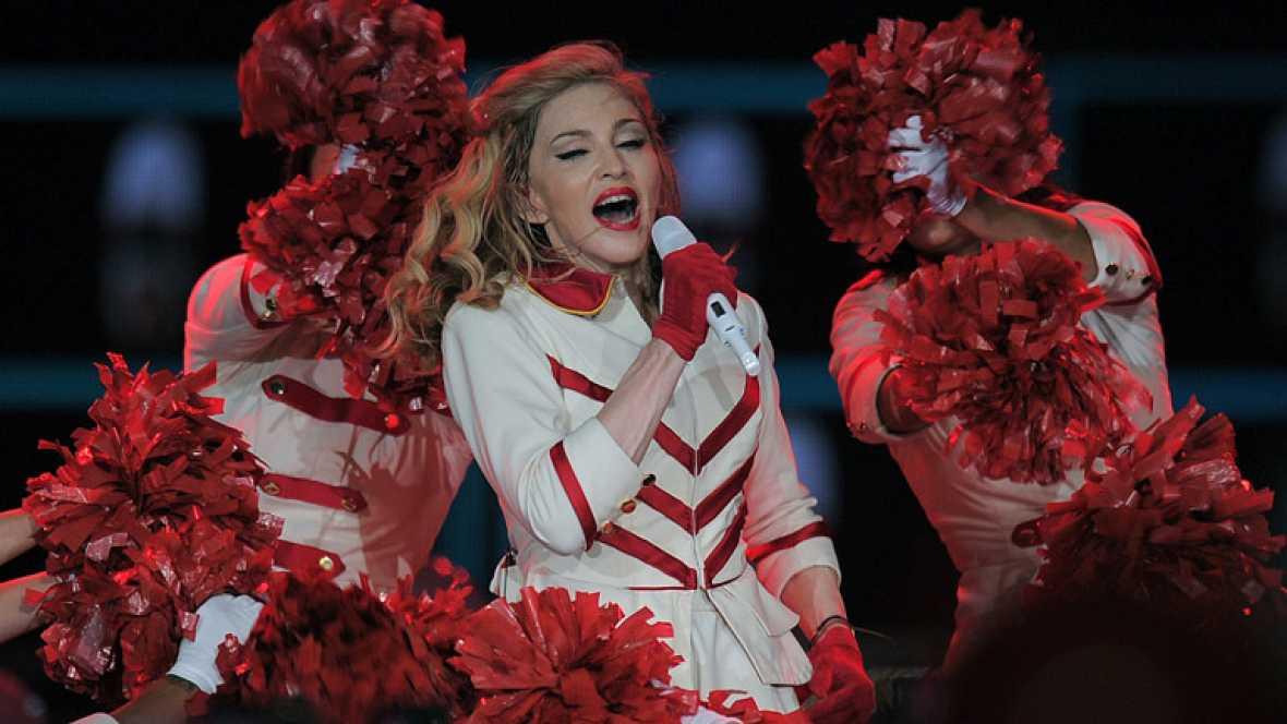 Madonna deslumbra a su público con un gran espectáculo en Barcelona