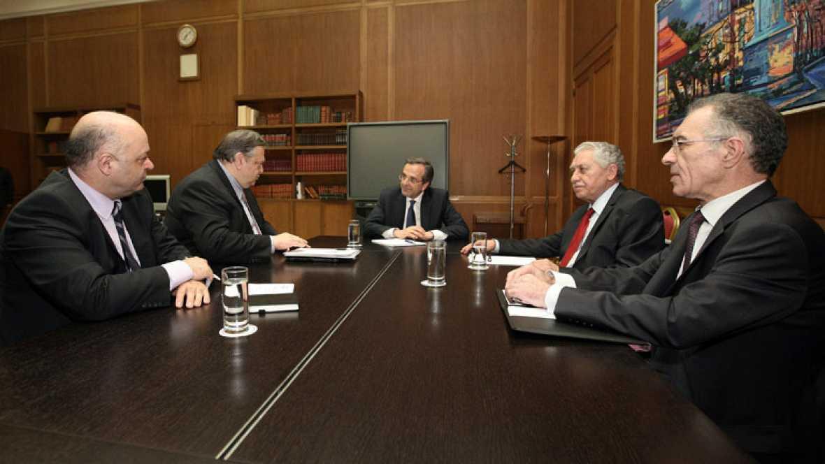 Los partidos que forman el gobierno de coalición en Grecia negocian la composición del Ejecutivo