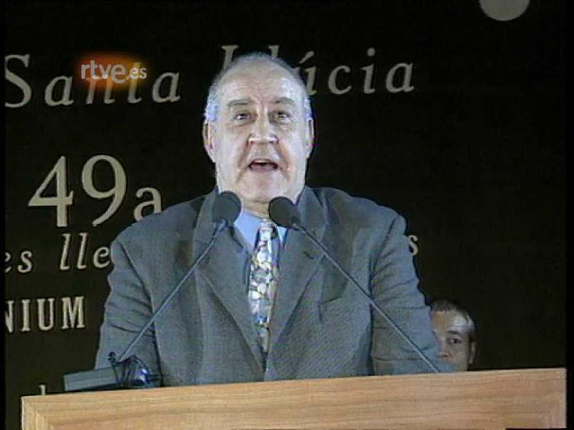 Arxiu TVE Catalunya  - Nit de Santa LLucia: Emili Teixidor