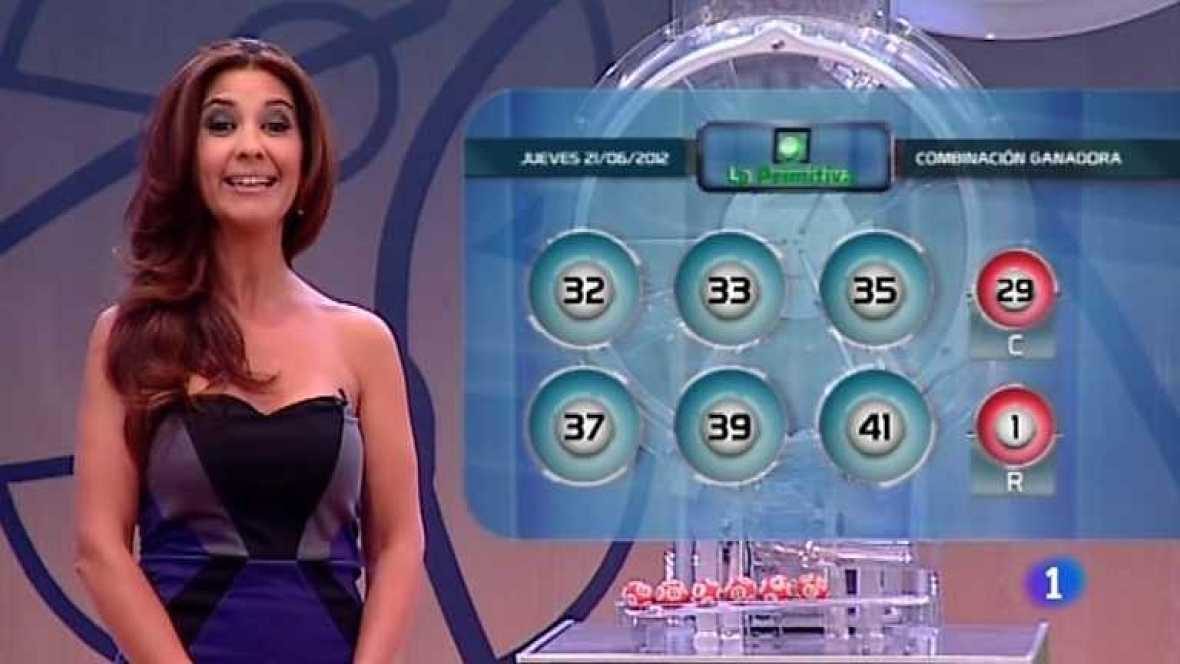 Lotería nacional y Primitiva - 21/06/12 - Ver ahora