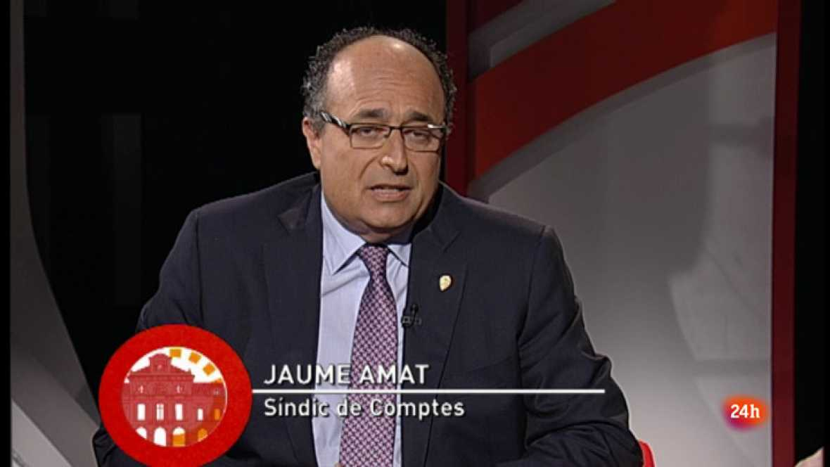 Aquí parlem -  Entrevista amb Jaume Amat, Síndic de Comptes de Catalunya