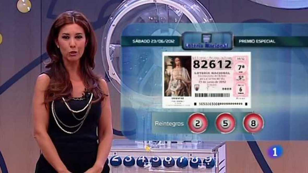 Lotería Nacional - 23/06/12  - Ver ahora