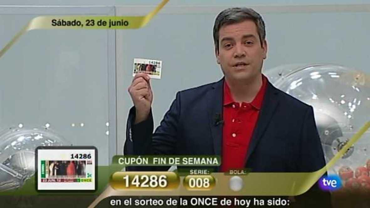 Sorteo ONCE - 23/06/12 - Ver ahora