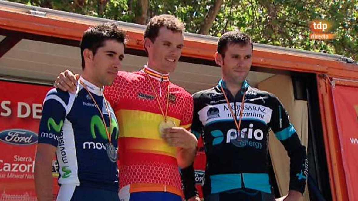 Ciclismo - Campeonato de España en ruta: Contrarreloj - 24/06/12 - escuchar ahora