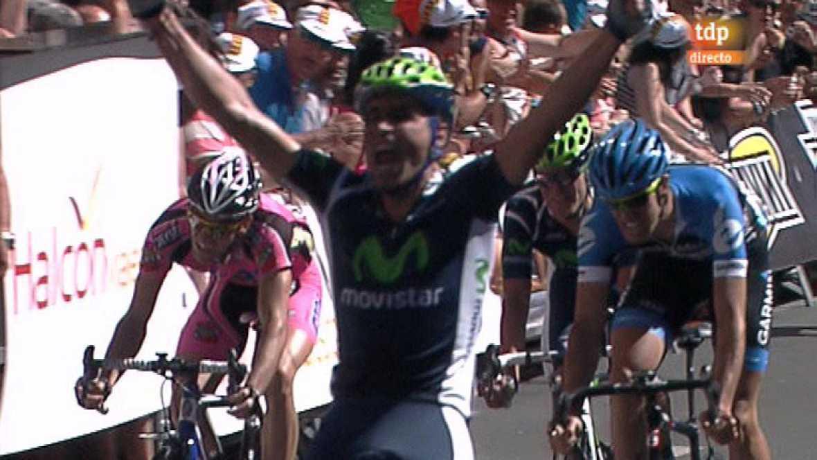 El ciclista del Movistar Fran Ventoso se ha proclamado campeón de España al imponerse al sprint en la prueba en ruta del Campeonato de España de ciclismo.