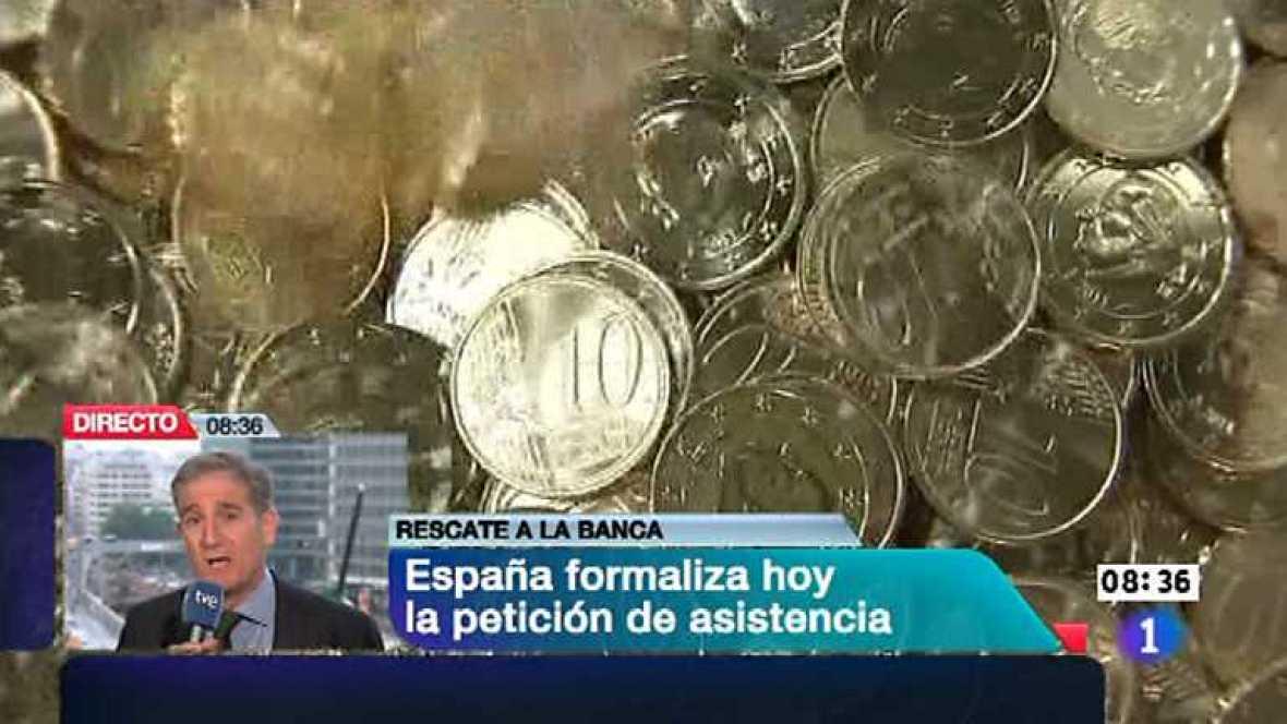 Telediario - 8.30 horas - 25/06/12 - Ver ahora