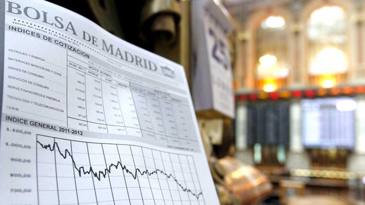 Segunda mayor caída en la Bolsa