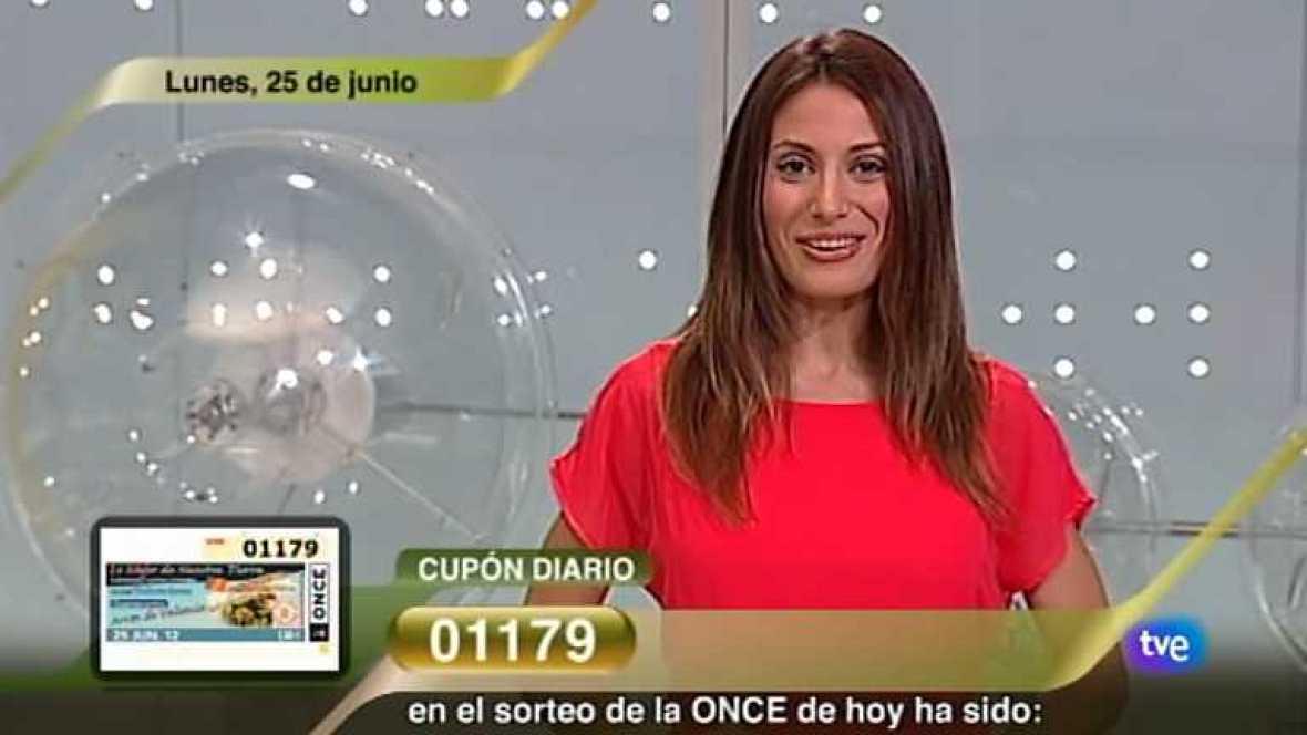 Sorteo ONCE - 25/06/12 - Ver ahora