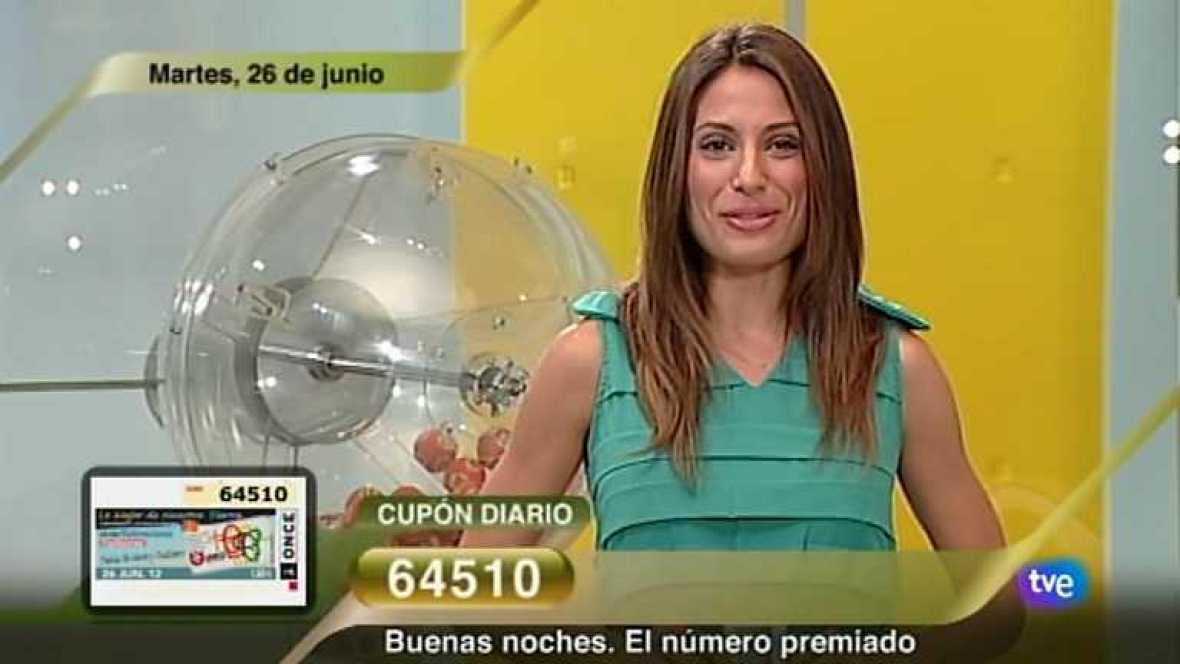Sorteo ONCE - 26/06/12 - Ver ahora