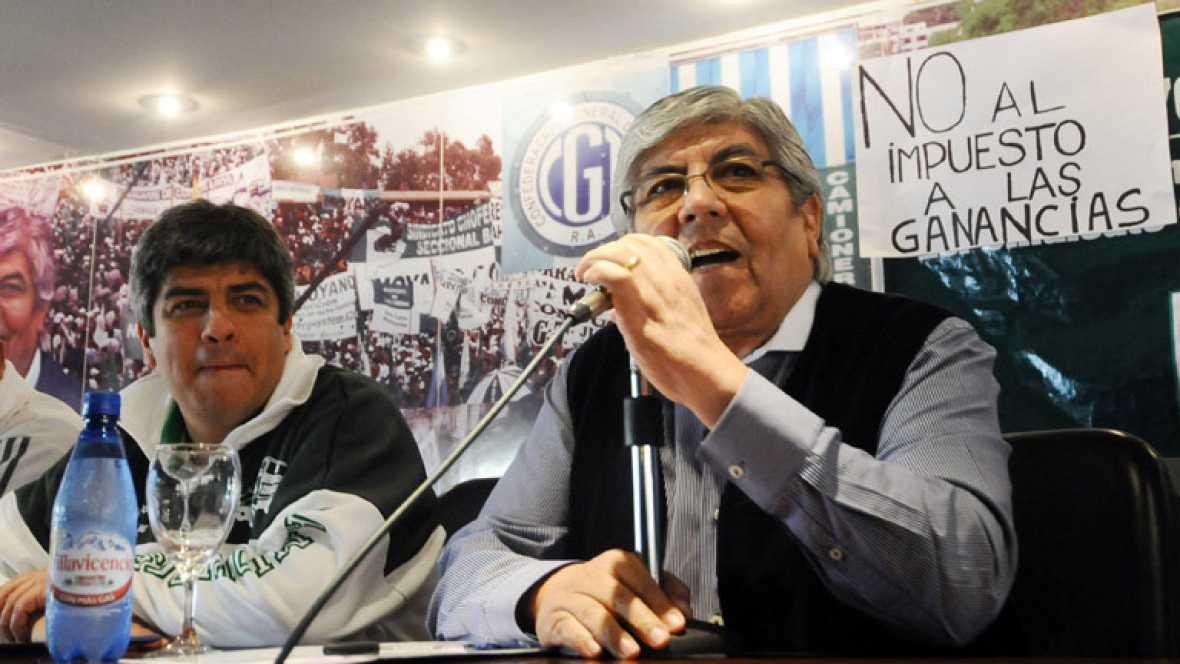 Cristina Fernández se enfrenta a la primera huelga general de su mandato