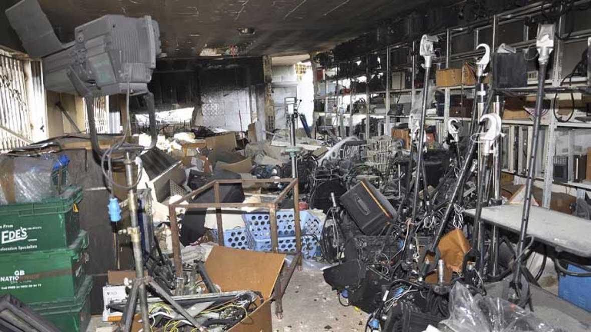 Mueren tres periodistas sirios en un ataque a un canal de televisión