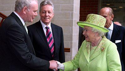 Histórica visita de la Reina Isabel II a Belfast