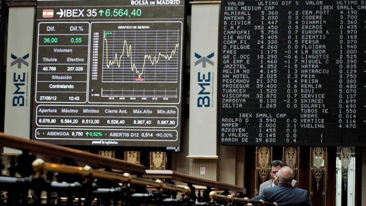 Fuertes ganancias en las Bolsas