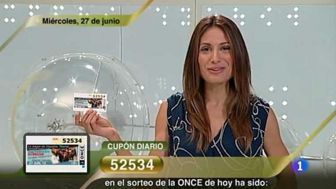Sorteo ONCE - 27/06/12 - Ver ahora