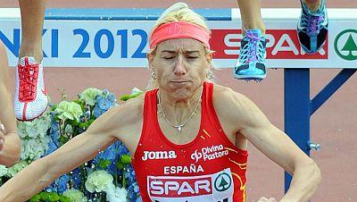 Marta Domínguez se lesiona en los Europeos de Atletismo