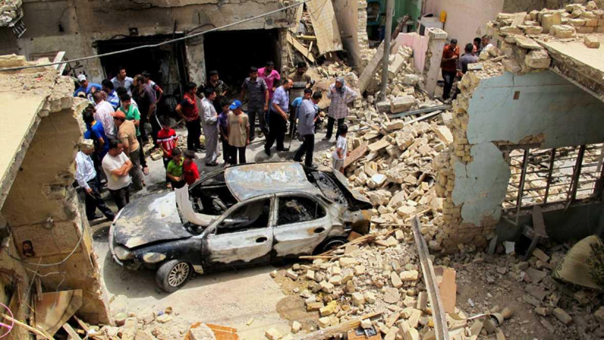 Mueren al menos 13 personas en tres ataques con bomba en Irak