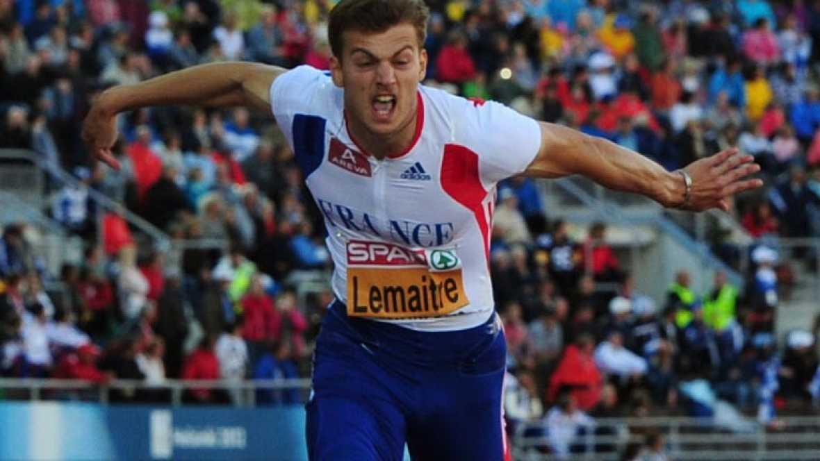 El francés Lemaitre reina en los 100 metros de los Europeos